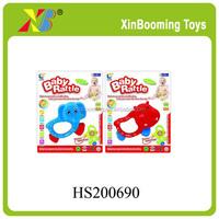 Animal shape plastic baby rattle set toys for Kids