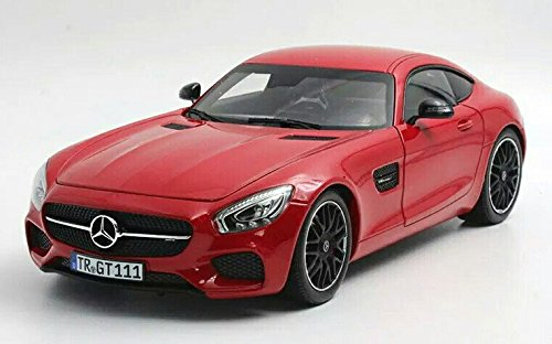 Mercedes Benz AMG GT GTS Coup 2015 Article Number 183496 Scale 1:18 Diecast Model Car Red