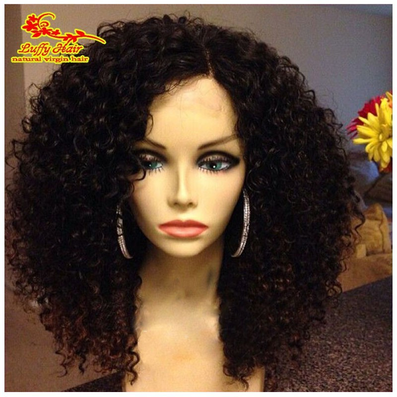 Grade 8a Top Quality Virgin Brazilian Front Lace Wigs