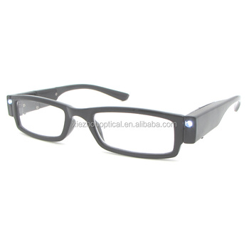 9e357935e7d 2017 low prices rechargeable led glasses reading glasses with led light