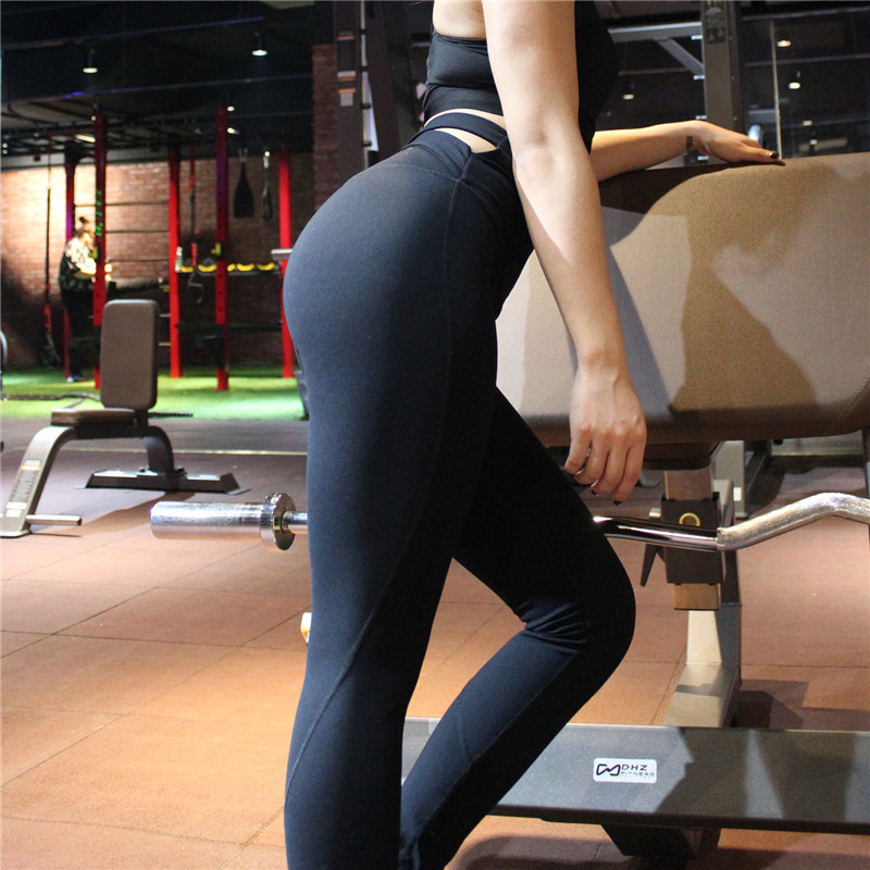 OEM Wholesale Hot High Waisted Workout Leggings For Women Gym Fitness Running Yoga Pants