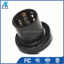 black pc heat lamp holder e27 ip44 t210 manufacture machine