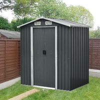 Kinying Brand Outdoor Sheds Metal Steel Shed