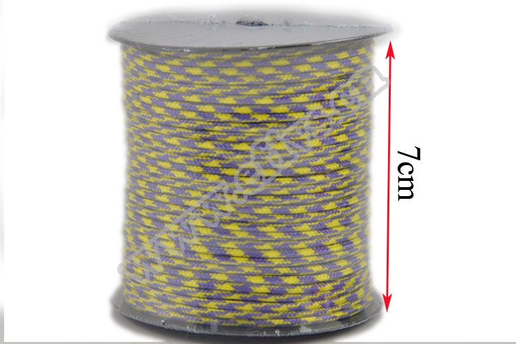 2017 hot new product manufacture wholesale tactical micro type 3 275lbs 3 strands 2mm paracord