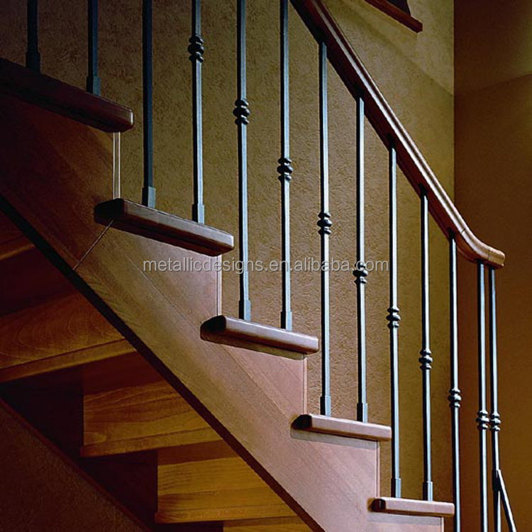 Attractive Wrought Iron Stair Railing, Wrought Iron Stair Railing Suppliers And  Manufacturers At Alibaba.com
