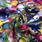 Custom knit reactive digital printing in 95% cotton 5% lycra fleece Fabric
