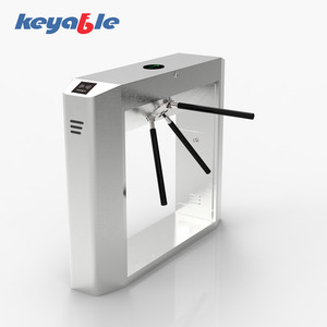 OEM fingerprint access control tripod turnstile malaysia with remote control