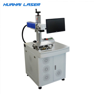 Cheap Price 20W/30W Fiber Metal Emblems Laser Writing Machine for logo and letters with high quality