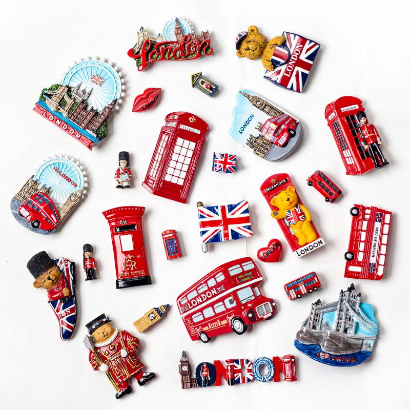 USA Tourism 3D Handmade New York Keychain Souvenirs Fridge Magnets For Wholesale