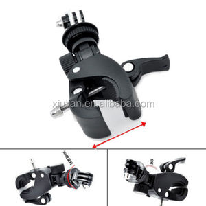Bicycle Handlebar Bike Digital Camera Holder Clip Moto Stand Mount for Go Pro Video DV Sports Camera