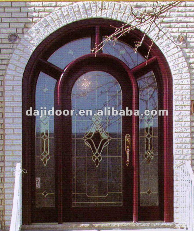 Round Top Restaurant Entry Doors Design Dj S6088 Buy Entry Doors
