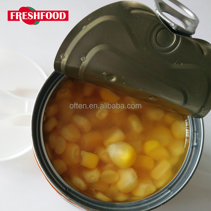 Buy wholesale direct a10 tin canned sweet corn from China