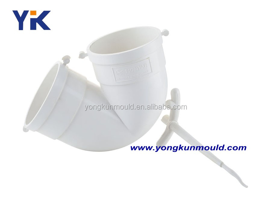 Plastic elbow upvc fitting molding