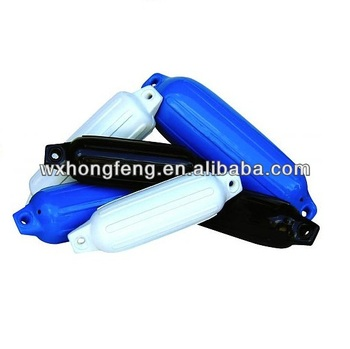 high quality cylindrical inflatable PVC marine fender