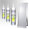 Good Price Fast Cure Non-toxic Waterproof Antimildew Silicone Rubber Sealant For Mirror JY979