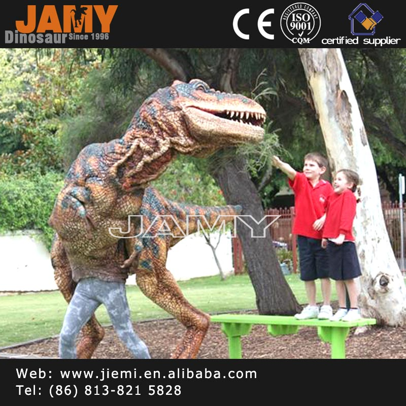 Interactive Sunproof T-rex Dinosaur Costume for Family