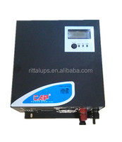 Hybrid solar inverter with built in controller 1kva 1.5kva 24volts