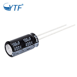 100uf 400v Polarity High Quality Radial Electrolytic Capacitor
