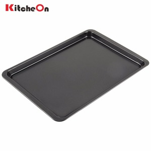 Classic Rectangular Carbon Steel Nonstick Bakeware Cookie Serving Tray Heavy Gauge Biscuit Baking Jelly Roll Pan