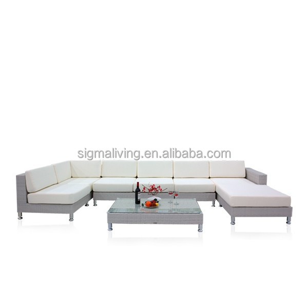 2015 Factory direct outdoor rattan sofa