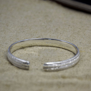 reasonable price pure silver arabic ring hand bracelet