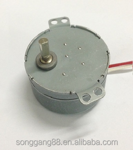 From China supplier AC gear motor 49ktyz for turntable with single phase