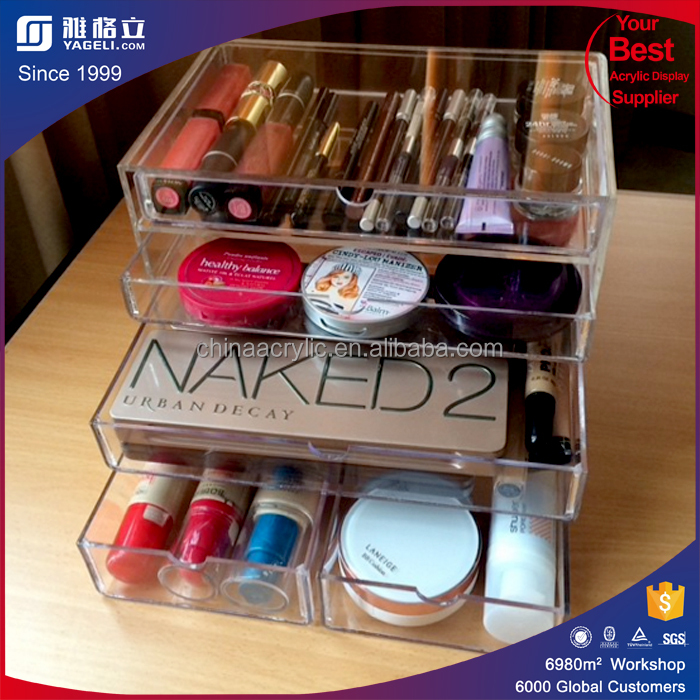 6 Drawer Acrylic Makeup Organizer  6 Drawer Acrylic Makeup Organizer  Suppliers and Manufacturers at Alibaba com. 6 Drawer Acrylic Makeup Organizer  6 Drawer Acrylic Makeup