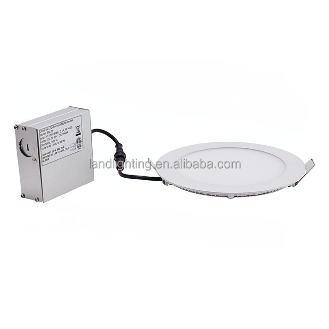 Ultra Thin LED Round Recessed Downlight with Aluminum drvier box and Junction Box LED-420