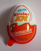 EGG SHAPE KINDER JOY