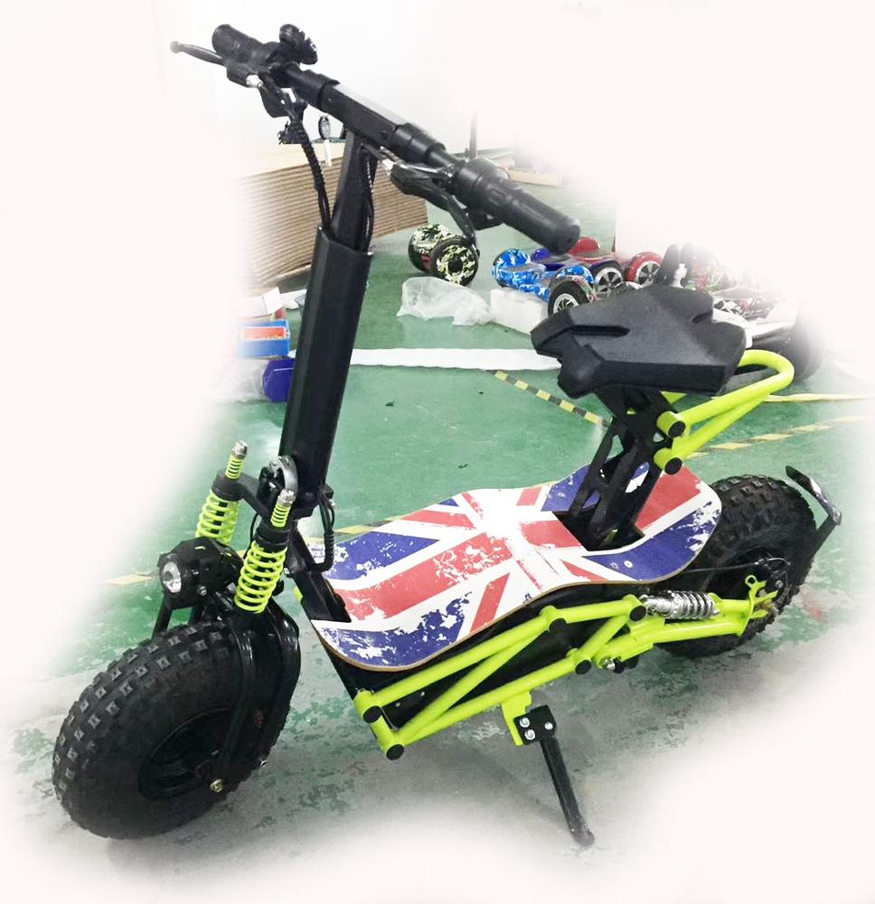 New design 14inch off road tire adult electric scooter 2000w