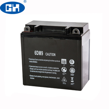 China 12V 9Ah Rechargeable Sealed Lead Acid Battery