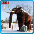 Feathered Animatronic Model Mammoth Sculpture
