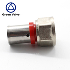 Green Valve High Quality Australian water supply plumbing press fitting ALPEX pipe brass fitting for water and gas