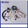 customized electronic auto led bulb wire harness for headlight