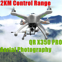 Popular 2014 2.4G RC drones professional for aerial photography fpv qr x350 quadcopter VS dji big flying toy helicopter