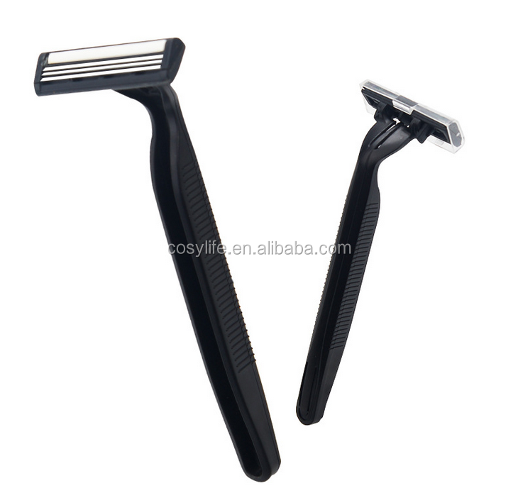 Wholeasle Men's Double Stainless Steel Blade Disposable Razor For Men and Female