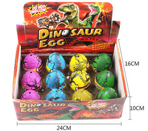 Novelty Magic Water Inflation Dinosaur Dino Eggs Toy
