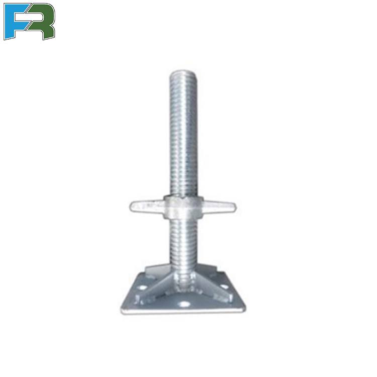 Construction Metal Scaffolding Screw Base Scaffolding Jack