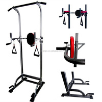 DIP&Chin-up Station/Power Tower/Gym Fitness Equipment/Vertical Knee Raise/Boxing Rack/Body Building/Crossfit