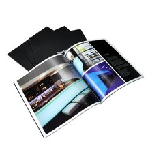 Customized Cheap Foldable Square Pocket Brochure Printing Catalogue Printing