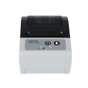 Waterproof 2 inch portable android bluetooth thermal printer price in india with auto cutter battery handheld receipt printer