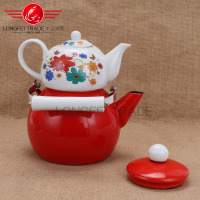 3.0L+0.9L Porcelain turkish tea set double arabic tea set electrical stovesin walmart
