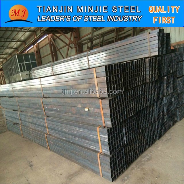 iron square tube price export to dubai of china steel pipe standard size