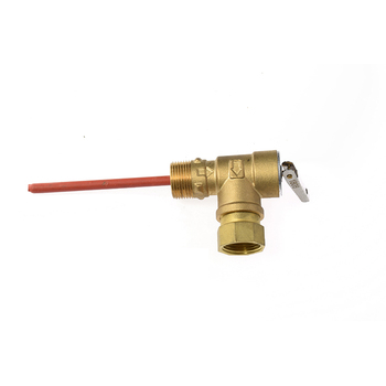 Lebria Temperature & Pressure Relief Valve for water heater system PT valve for solar water heater quality