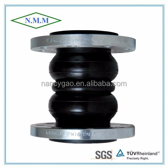 flexible rubber joint flange ends