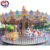 Funny electric rocking horse/amusement carousel rides for sale