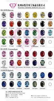 Guangxi Wuzhou Yisheng Cubic Zirconia Color Chart Buy