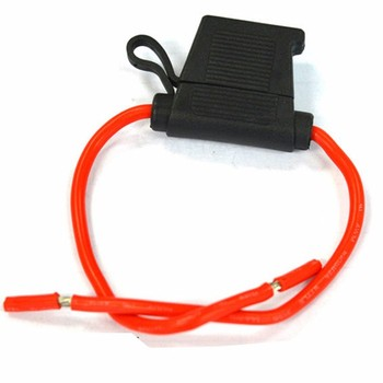 Cooper Fuse Holder Red 300mm 60a 48v Auto Fuse - Buy Auto Fuse Adapter,60 on