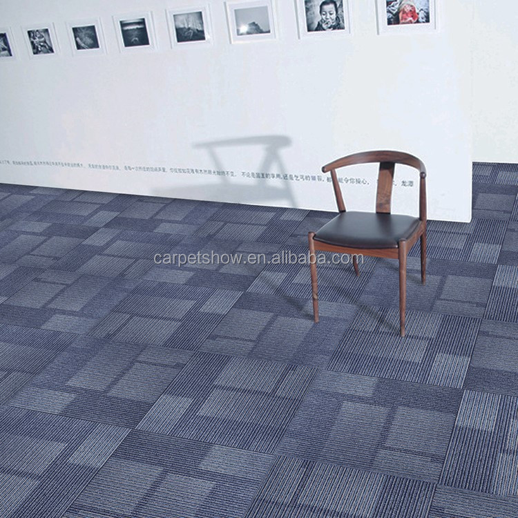 Multi level loop 4mm pile height high Quality Office Commercial Carpet Tiles