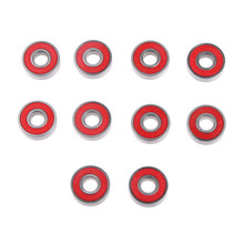 Стабильный 10 шт детский скутер скейтборд подшипники ABEC 9 скоростные подшипники стальной 2 вида цветов для наружного подшипник для Лонгборда...(Китай)